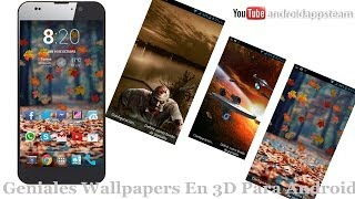 Wallpapers En 3D Para Android [iOS7 Parallax True 3D Depth] - Android Apps Team
