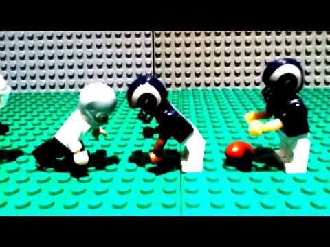 Semi Final Copa America 2016 - USA vs ARGENTINA 0-4 Lego Football .