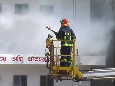 Reduce Casualty of Earthquake and Fire Accident. Fire week, Bangladesh Fire Service..