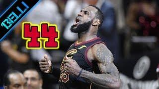 """LeBron James """"ANCORA LUI! ANCORA LBJ!"""" 44 Punti G5 vs Pacers (Live🎙Flavio Tranquillo)"""