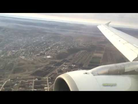 Air Moldova A319 Amazing sunrise flight to Chisinau KIV