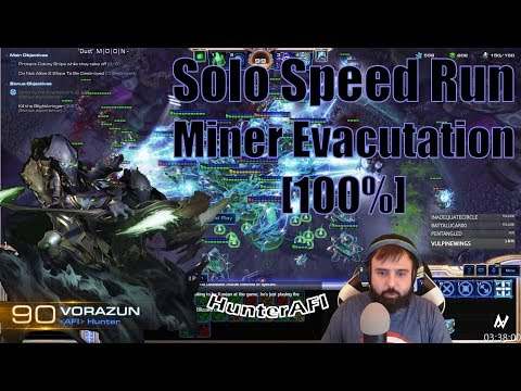 Solo Co-Op Vorazun Miner Evacuation [Full Clear] 27:05
