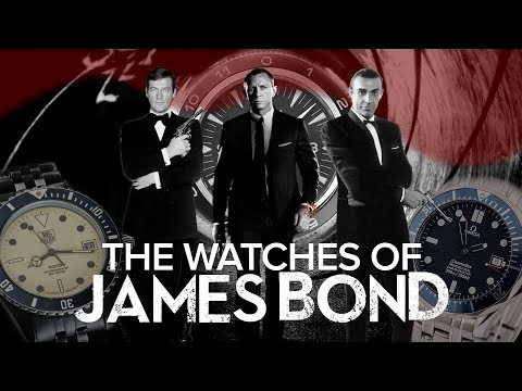 The Watches Of James Bond | Detailed History Of Watches That James Bond Wore In Movies (1962-Now)