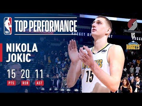 Nikola Jokic Records 10th Triple Double Of The Season!