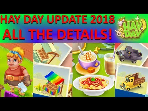 HAY DAY SPRING UPDATE 2018 INFO! MAGGIE, CUSTOMIZATION, NEW PRODUCTS, NEW DECOS AND MORE! CUSTOMIZE!