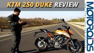 2017 KTM 250 Duke Performance Review