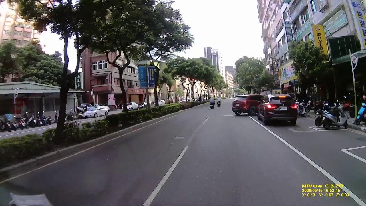 這樣騎車 並排停車 - YouTube