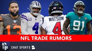 NFL Trade Rumors On OBJ, Deshaun Watson, Dak, Yannick Ngakoue & Jamal Adams + Von Miller News