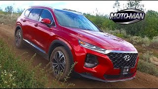 2019 Hyundai Santa Fe CUV FIRST DRIVE REVIEW: On AND Off Road in a no longer bland Baby Buggy (2/2)