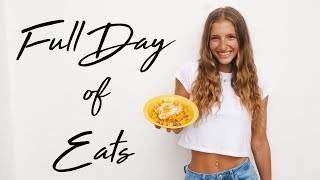WHAT I EAT IN A DAY VLOG 2018   Full Day of Eating + Snacking?