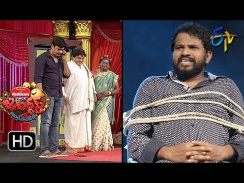 Hyper Aadi, Raising Raju Performance | Jabardasth | 26th July 2018 | ETV  Telugu
