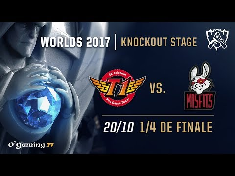 SKT T1 vs Misfits  World Championship 2017  14 de finale  League of Legends