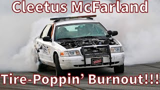 "Cleetus McFarland 900-HP ""Project Neighbor"" Mega-Burnout!!! Supercharged Crown Vic"