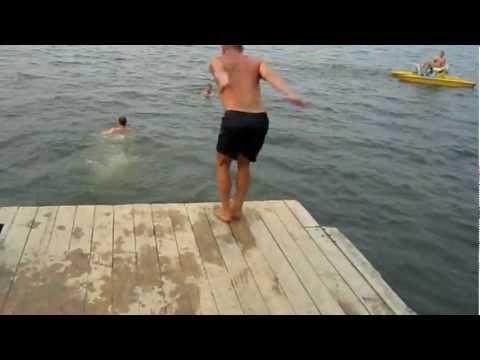 Прыжки в воду для новичков Часть 2