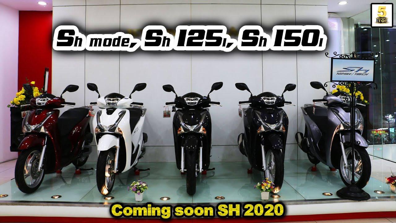 Hỏi giá xe SH mode 125, SH 125i và SH 150i 2019 ▶️ Ra Winner X - SH tiếp tục giảm 🔴 TOP 5 ĐAM MÊ