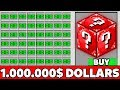 Minecraft Battle: NOOB BUY SUPER LUCKY BLOCK FOR 1.000.000$ MILLION Challenge in Minecraft Animation