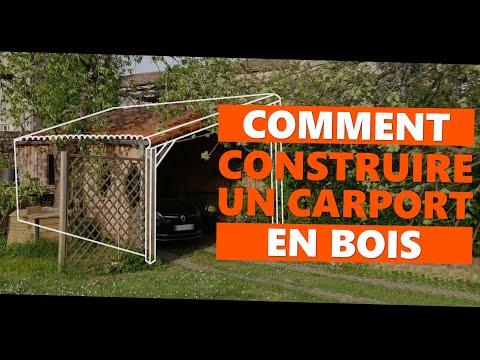 Comment Construire Un Carport En Bois Youtube