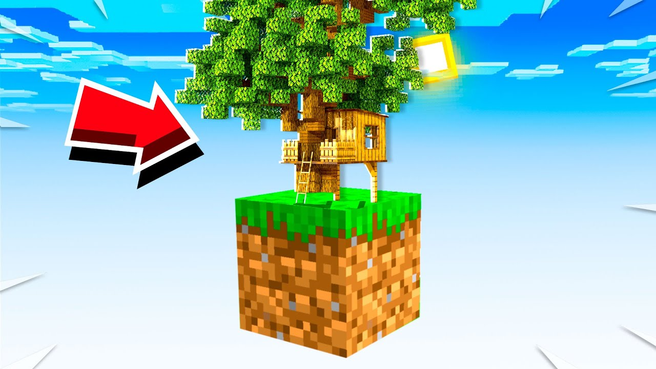 Download MAKING A TREE HOUSE ON ONE BLOCK! (EP 13)