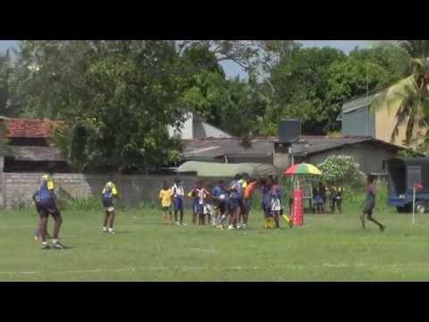 Panadura Sri Sumangala College un16 rugby 2013