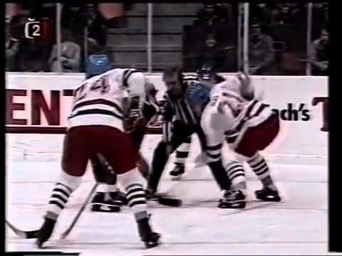 Czechoslovakia USA 19 April 1982 Ice Hockey Championship