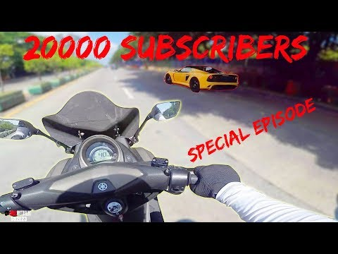 YAMAHA NMAX MOTOVLOG | 20000 YOUTUBE SUBSCRIBERS | MRS JMAC | NUMBER ONE MOTOVLOGGER