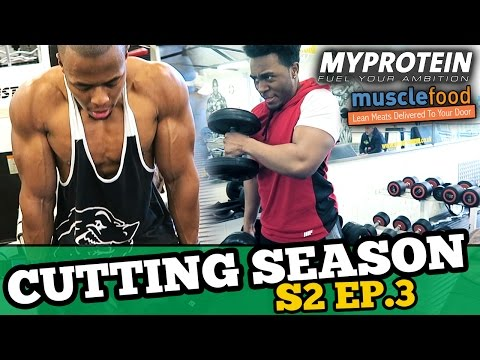 How to Maintain Muscle Mass | Cutting Season Ep.3 | 180.6lbs