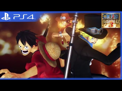 One Piece: Pirate Warriors 3 - Gameplay Trailer #4 [JAP] (PS4, PS3, PS Vita)