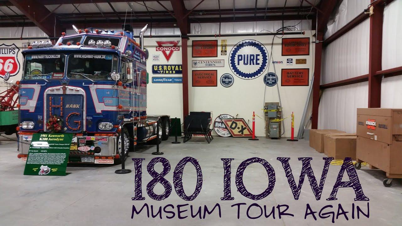i 80 iowa truck museum 03 05 16 youtube