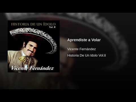 APRENDISTE A VOLAR - VICENTE FERNANDEZ