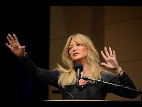 Neuroscience + Mindful Awareness Training = Thriving Children with Goldie Hawn