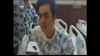 [ Pesbukers ANTV ] - 24 April 2014 Kasihan Olga Saputra Masuk Rumah Sakit
