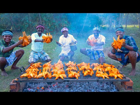 CHICKEN BBQ | Healthy Country Chicken Barbeque Recipe Cooking In Village | Grilled Chicken Recipe