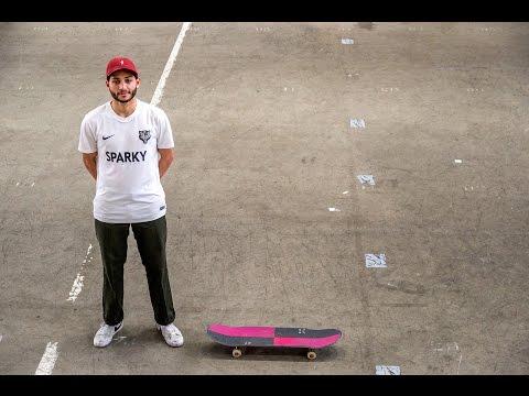 Minute Man - Aaron Tiekink in Skatepark Utrecht