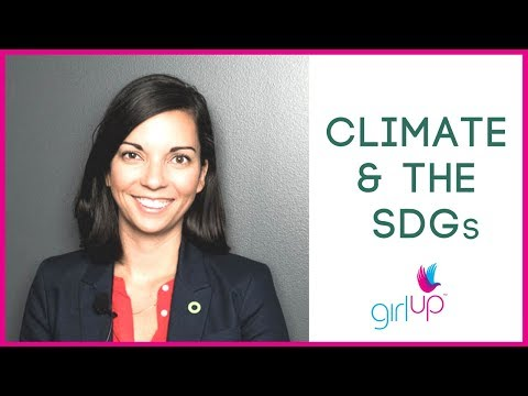 How To: Climate, Gender, and the SDGs