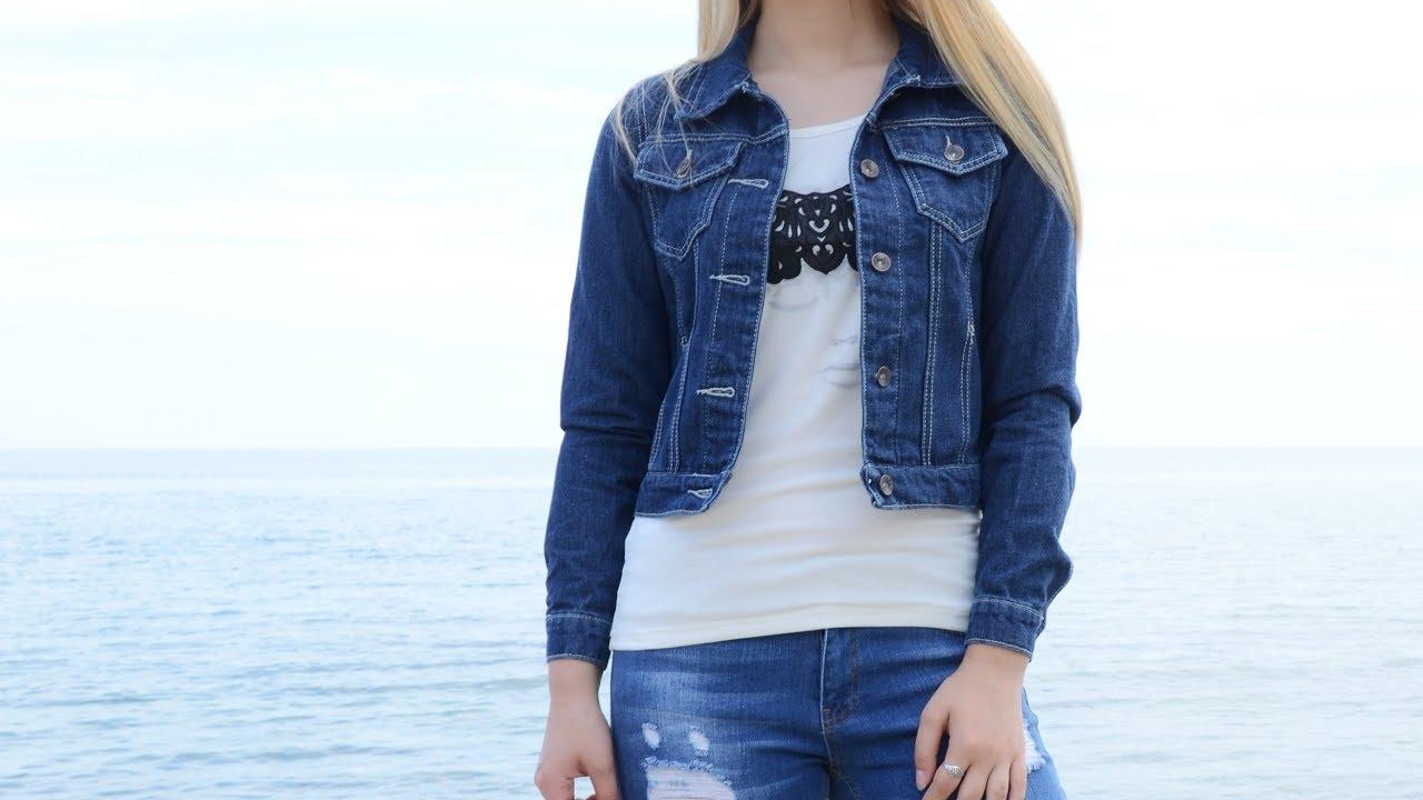 588a8b3c Куртка классическая джинсовая женская 406K001 купить дешево -  интернет-магазин Time Of Style