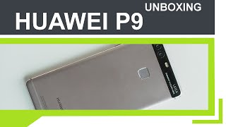 HUAWEI P9 - Erster Eindruck, Unboxing