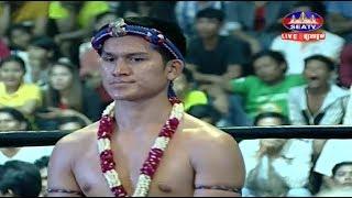 Veng Sopheak vs Kolabdam(thai), Khmer Boxing Seatv 21 Jan 2018, Kun Khmer vs Muay Thai
