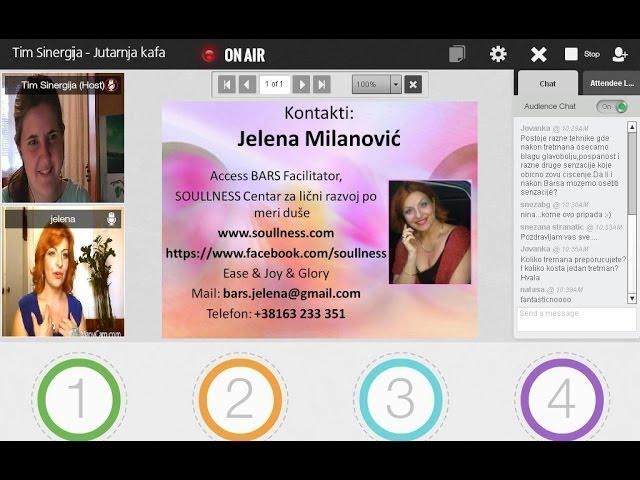Nora Kalapati - Jelena Milanović: Kako da unesemo radost i lakoću u svakodnevni život?, 24.06.2014.