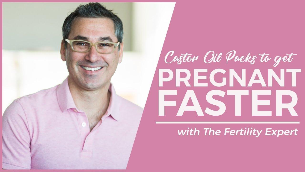 Castor Oil Packs to Get Pregnant Faster