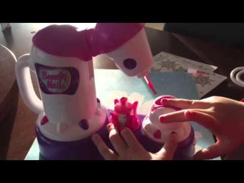 C mo funciona el juguete beauty nails para pintar las u as - Unas modelos para pintar ...
