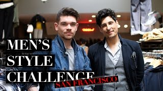 Thrift Shop Outfit Challenge ft. Carlos Roberto | Men