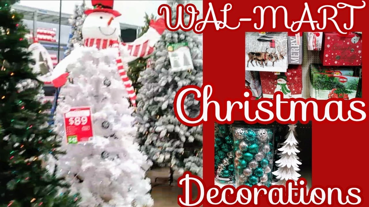 wal mart christmas decorations video 2018 with christmas music