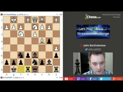 Chess.com Streamers Challenge - John Bartholomew