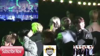 exo shinee taeyeon bts reaction to ikon dumb and dumber seoul music awards 2016