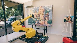 Робот-художник Городской интерактивный проект Росбанка