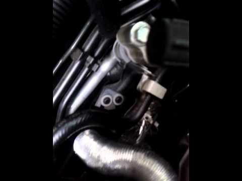 Strange knocking noise on new td 2.5 engine R51M