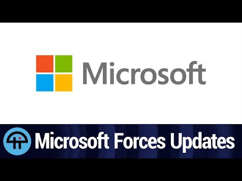 Microsoft Forces Updates