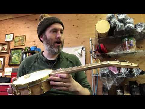 Mini Five String Banjo- open g tuning