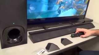 review de la barra de sonido HT-CT380 de Sony