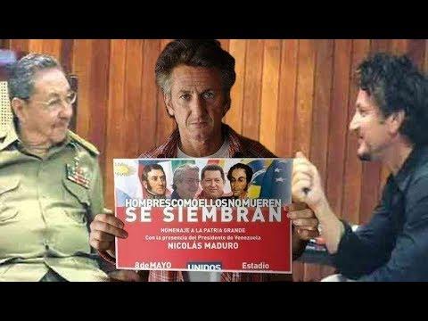 Se *MUDÓ* YA Sean Penn a Caracas o a La Habana???